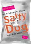 Salty Dog Sweet Chilli Crisps 30x40g