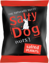 Salty Dog Salted Peanuts 24x45g