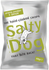 Salty Dog Strong Cheddar & Onion Crisps 30x40g