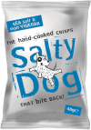 Salty Dog Sea Salt & Vinegar Crisps 30x40g