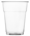 Disposable Fill to rim Plastic 1/2 Pint Glass x1250